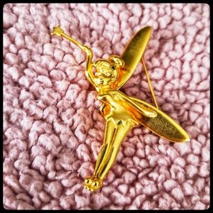 Disney Tinkerbell pin with flutter wings